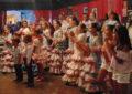 La Caseta El Encuentro celebró ayer su fiesta infantil