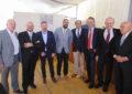 Copa del Ayuntamiento a la corporación, al cortejo y a los medios de comunicación