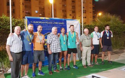 Destacada participación de deportistas linenses en los VII Juegos Europeos de Policías y Bomberos
