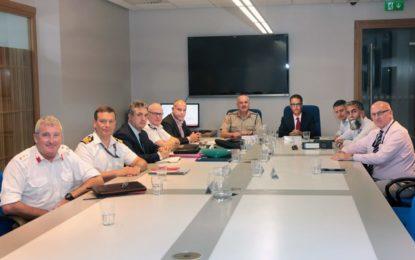 """Reunión del GCC para tratar nivel el de amenaza para Gibraltar, que sigue siendo """"sustancial"""""""