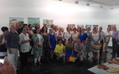 """Iniciados nuevos cursos de pintura para mayores y niños organizados por """"Reiniciarte"""" en colaboración con Cultura"""