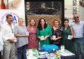 El alcalde y Juan Pablo Arriaga ha participado en la mesa petitoria con motivo del Día Mundial del Alzheimer