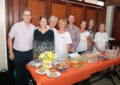 El Ministro de Sanidad de Gibraltar, Neil Costa, asiste al 'Gibraltar's Biggest Coffee Morning'