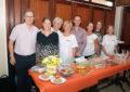 El Ministro de Sanidad de Gibraltar, Neil Costa, asiste al 'Gibraltar's Biggest Coffee Morning'