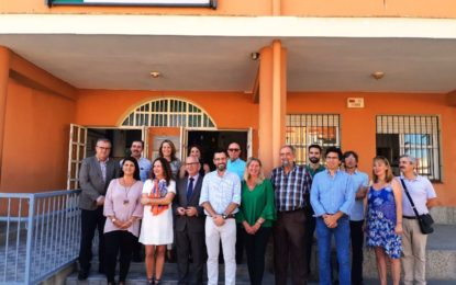 El alcalde ha participado en la inauguración oficial del curso de Infantil y Primaria junto con el delegado del Gobierno andaluz en Cádiz y la delegada provincial de Educación