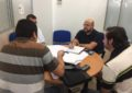 Valenzuela supervisa los avances en la cartografía de la ciudad para el nuevo PGOU