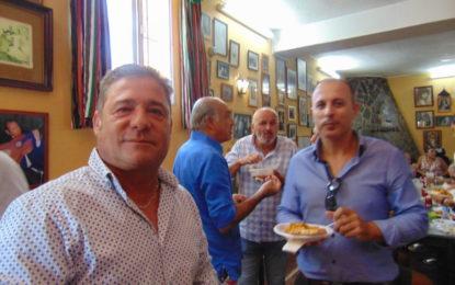 El pregonero de la Feria, Germán Domínguez, agasajó a todos los que participaron en su pregón (Galería de Fotos)