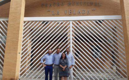El alcalde anuncia la rehabilitación integral del Teatro Municipal La Velada con una inversión de 763.378 euros