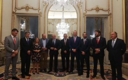 El alcalde solicitará una reunión con el delegado del Gobierno en Andalucía tras su reunión con el ministro Borrell