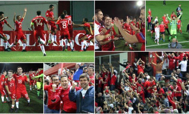 """""""Una pequeña victoria para el mundo, una gran victoria para Gibraltar"""", titular del Diario Marca sobre las dos victorias de Gibraltar en Uefa Nation League"""