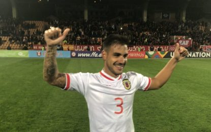 Gibraltar logra ante Armenia (0-1) su primer triunfo oficial con un gol de Joseph Luis Chipolina