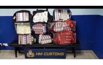 Detenciones relacionadas con contrabando y estupefacientes por parte del Servicio de Aduanas de Gibraltar