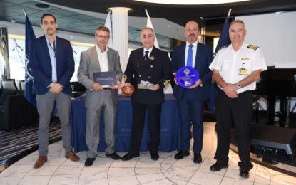 Llegada inaugural de crucero – MSC Meraviglia a Gibraltar