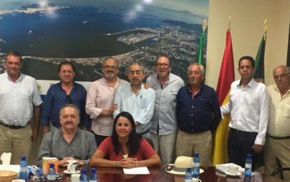 Marina García trabaja en las próximas actividades de la sección 5ª del IECG junto a las peñas flamencas de la comarca