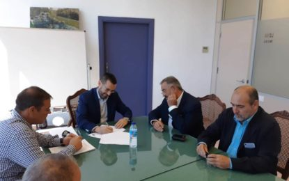 Firmado el contrato para la remodelación de zonas verdes en el parque Princesa Sofía