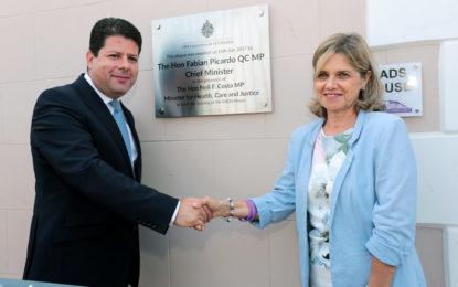 El Gobierno de Gibraltar proporcionó a GADS locales construidos con un propósito específico