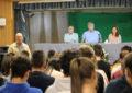 Los escritores Jesús Maeso y Raúl Borrás imparten una conferencia en el Instituto Antonio Machado