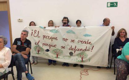 El equipo de gobierno ofrece un mensaje de tranquilidad ante la posibilidad de que el nuevo PGOU propicie una merma en la superficie del parque Princesa Sofía