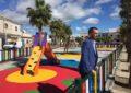 Terminados tres de los doce parques infantiles incluidos en el proyecto de renovación de estos elementos de la ciudad