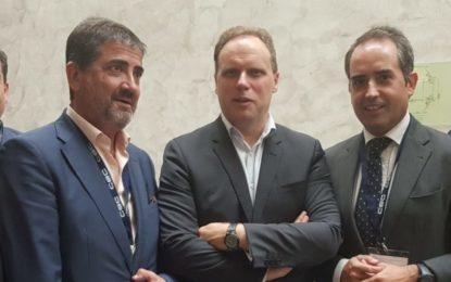 """Juan Pablo Arriaga ha participado hoy en la convención empresarial """"Un mundo en cambio, una provincia en movimiento"""","""