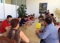 La alcaldesa de La Línea agradece a alumnos en práctica de Salesianos el buen trabajo desarrollado en el Ayuntamiento