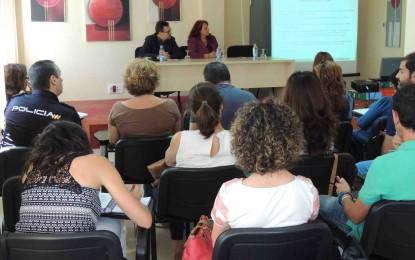 Reunión de la Comisión Municipal de Absentismo Escolar en San Roque