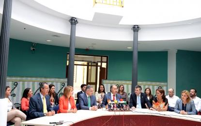 El alcalde de Algeciras hace balance de sus tres años de gestión municipal