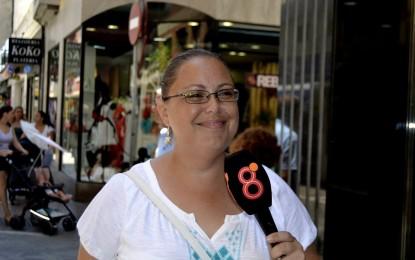 Gemma Arceiz dialogó con los vecinos de San Bernardo