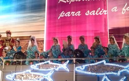 Brillante coronación de Paula Martínez Jiménez como Reina de la Feria de La Línea