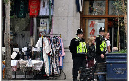 Se concederá La Libertad de la Ciudad a la Policía Real de Gibraltar