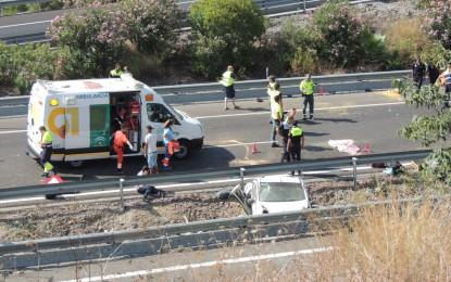 Descienden un 48% los accidentes de tráfico en la provincia de Cádiz