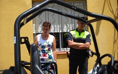 Nuevos vehículos para la dotación de la Policía Local destinada en las playas