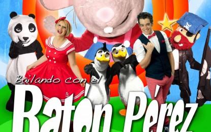 """Este viernes 15, el palacio de congresos acoge el espectáculo infantil """"Bailando con el Ratón Pérez"""""""
