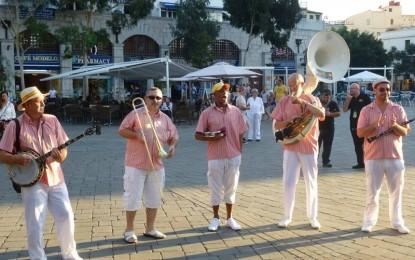 Concierto de Jazz en el Parque en Gibraltar