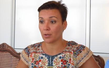 La alcaldesa muestra su satisfacción por el incremento de las licencias de apertura concedidas