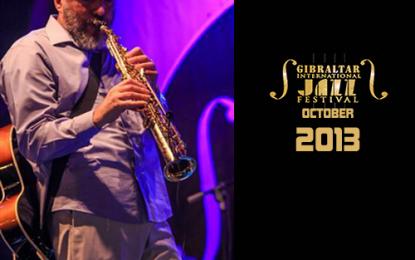 Cartel del Festival Internacional de Jazz de Gibraltar