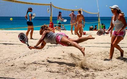 Torneo de pádel playa este fin de semana en La Alcaidesa