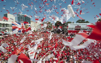 El Ministro para Europa celebra el Día Nacional en Gibraltar