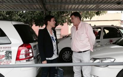 """Rafael Pacheco: """"Gibraltar es fundamental para que el sector del taxi en La Línea esté bien"""""""