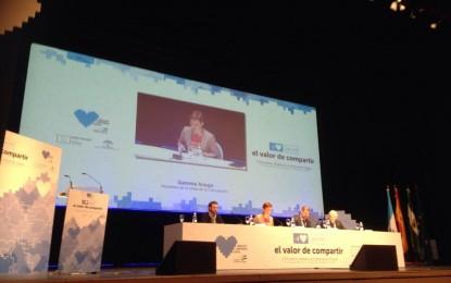 La alcaldesa de La Línea inaugura el encuentro anual Andalucía Compromiso Digital