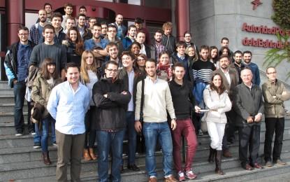 Visitas al Puerto de Algeciras de varios profesores del Proyecto Comenius