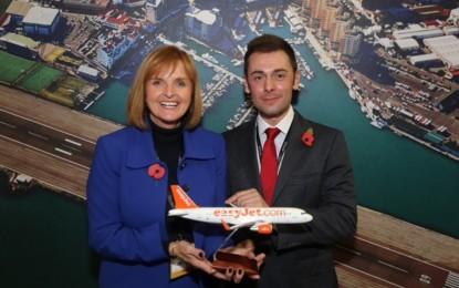 EasyJet inaugura una nueva ruta entre Bristol y Gibraltar