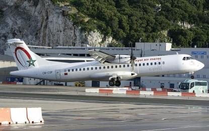 Satisfacción en Gibraltar por ver como la Royal Air Maroc ofrecerá un servicio entre Tánger y Gibraltar