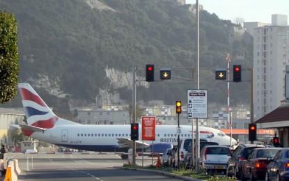 Un vuelo de British Airways sufre retraso a causa de un avión militar español