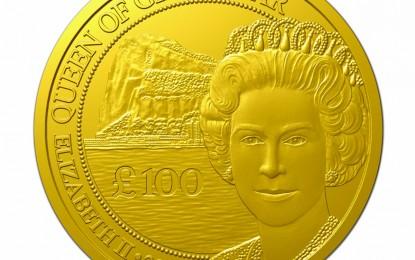 El Gobierno de Gibraltar acuña una nueva edición exclusiva de tan solo 20 monedas Gibraltar Gold Royal de oro de 24 quilates (999 milésimas)
