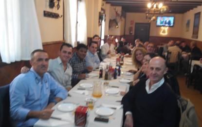 Comida de Navidad del personal de Deportes del Ayuntamiento de La Línea