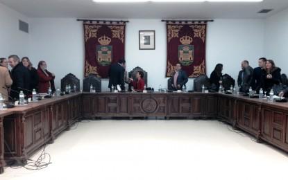 La sesión plenaria de enero de la corporación municipal será el próximo jueves