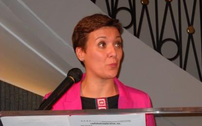 """La alcaldesa asegura que es una """"desvergüenza política"""" que el PP critique la situación de los cortes de luz y no recuerde su época en la que usó generadores"""