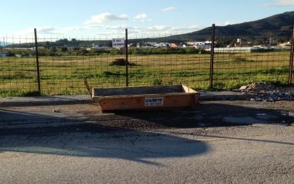 La colocación de contenedores para escombros está dando positivos resultados