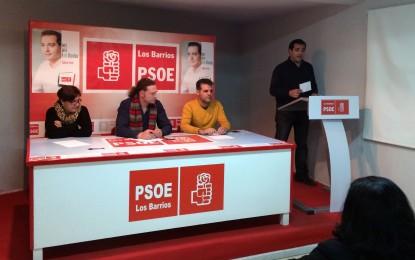 Salvador Puerto presenta la lista electoral del PSOE de Los Barrios